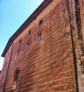 Assisi, centro storico per la visita di Papa Francesco