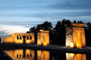Madrid Spagna Spezio templo Debod