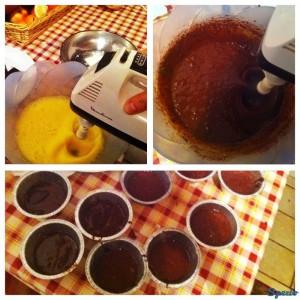 procedimento ricetta soufflé cioccolato