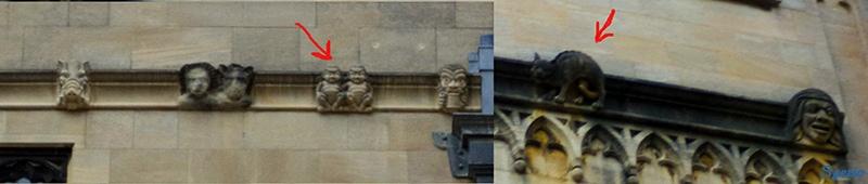cornicione Bodleian Library Ezio Totorizzo