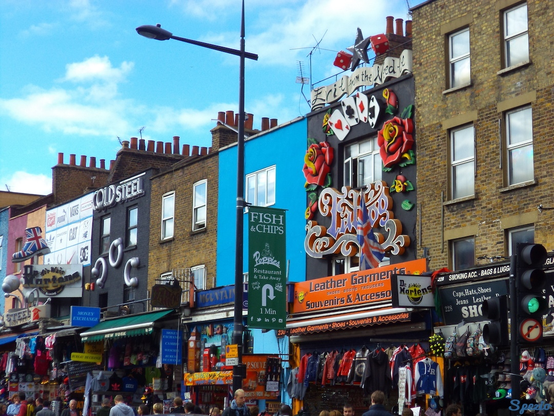 Camden Town Londra Negozi