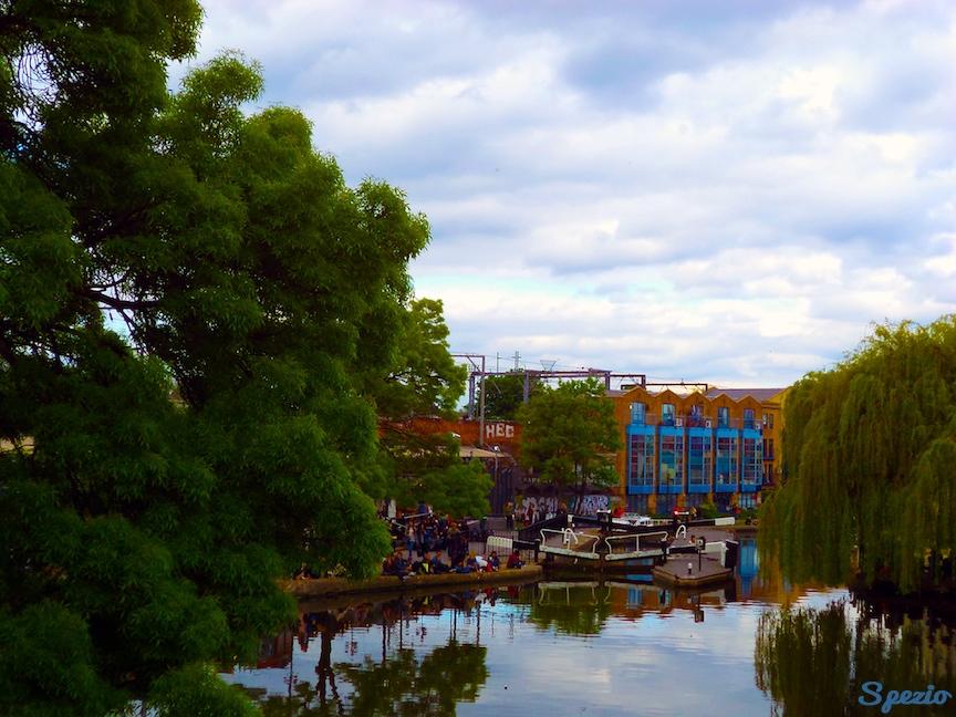 Camden Town Londra Regent's Canal