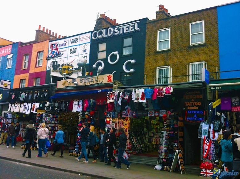 Camden Town Negozi Londra