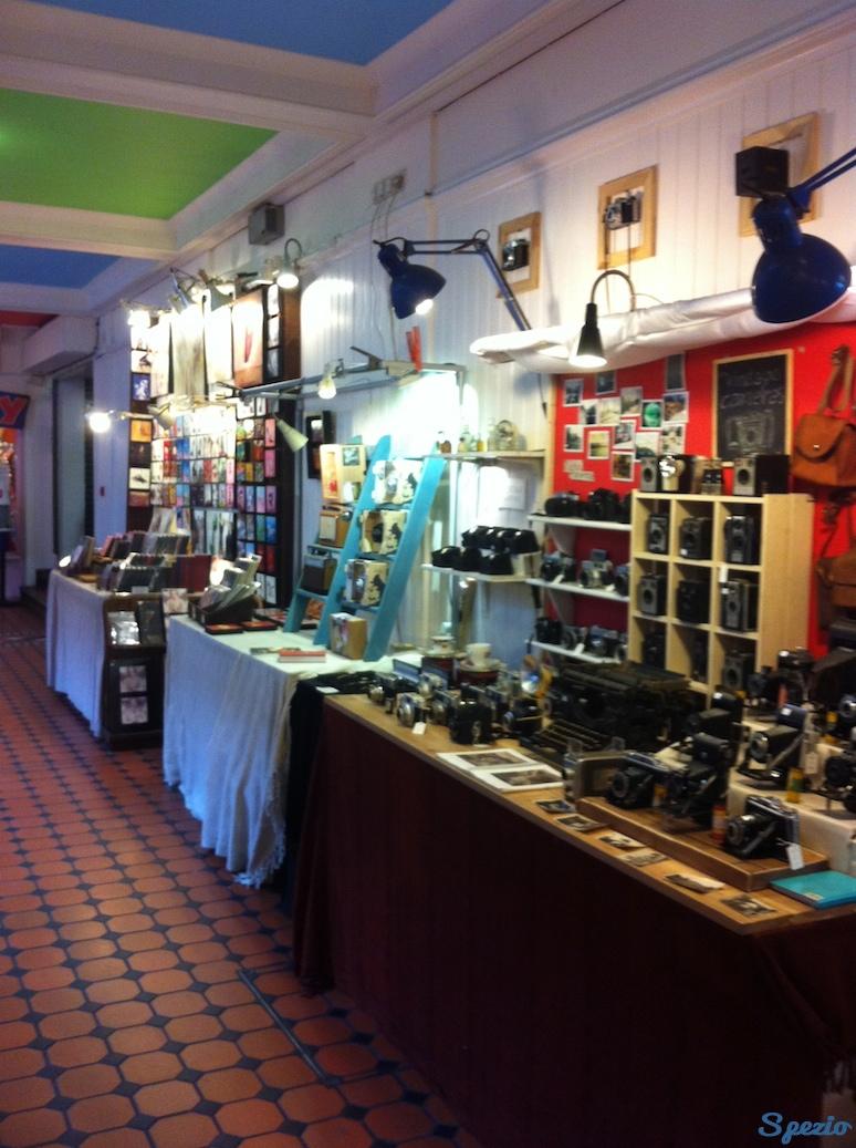 Camden Town Londra Negozio Vintage