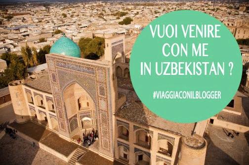 Viaggia con il blogger Uzbekistan