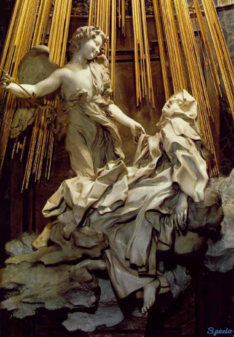 Angeli e Demoni Estasi di Santa Teresa Bernini Santa Maria della Vittoria