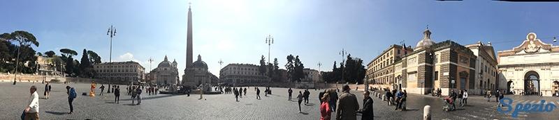 Angeli e Demoni Piazza del Popolo