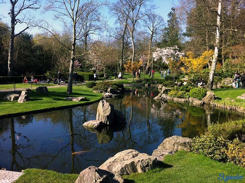 Holland Park giardino zen