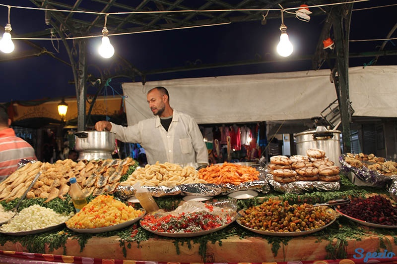 Street Food Marrakech Piazza Jemaa el Fna