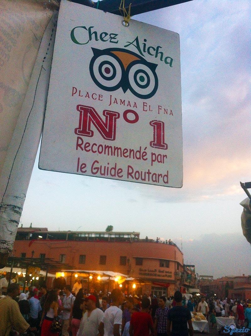 Aicha street Food Piazza Jemaa el Fna