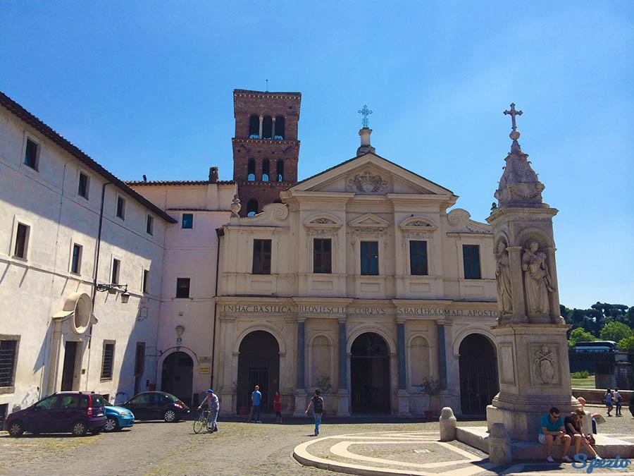 Isola Tiberina: San Bartolomeo