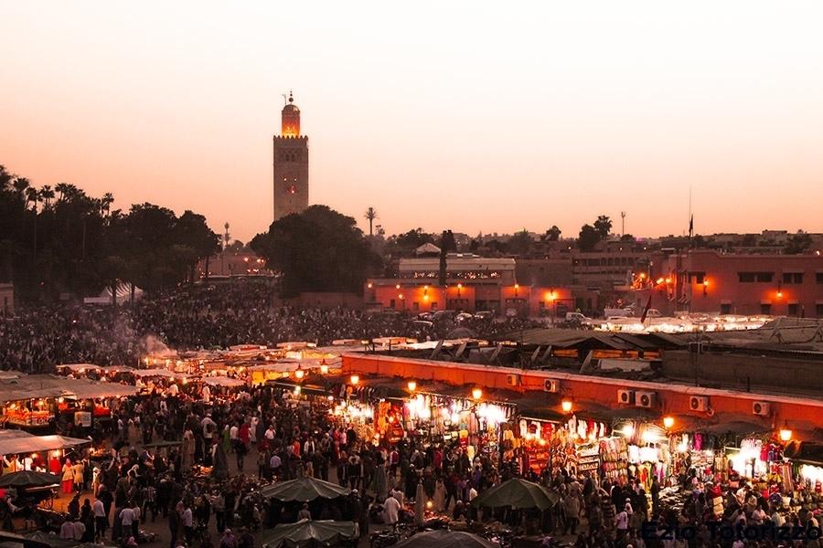 I feel Marocco Marrakech