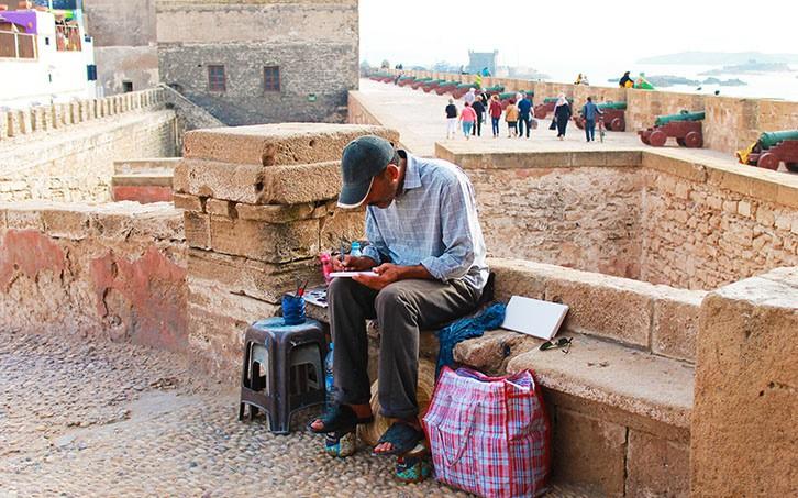 I feel Marocco