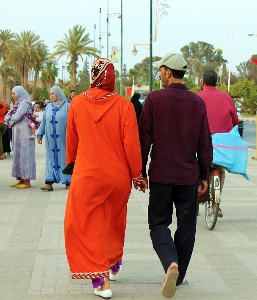 I feel Marocco passeggiando mano nella mano