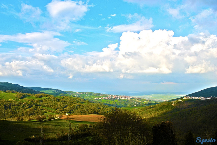 Monti Dauni: Skyline