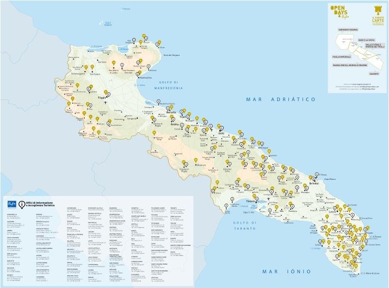 carta Open Days Puglia 2014