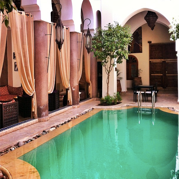 Riad in Marocco Marrakech