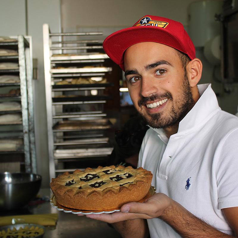 Spezio e la torta coi Bischeri ricetta