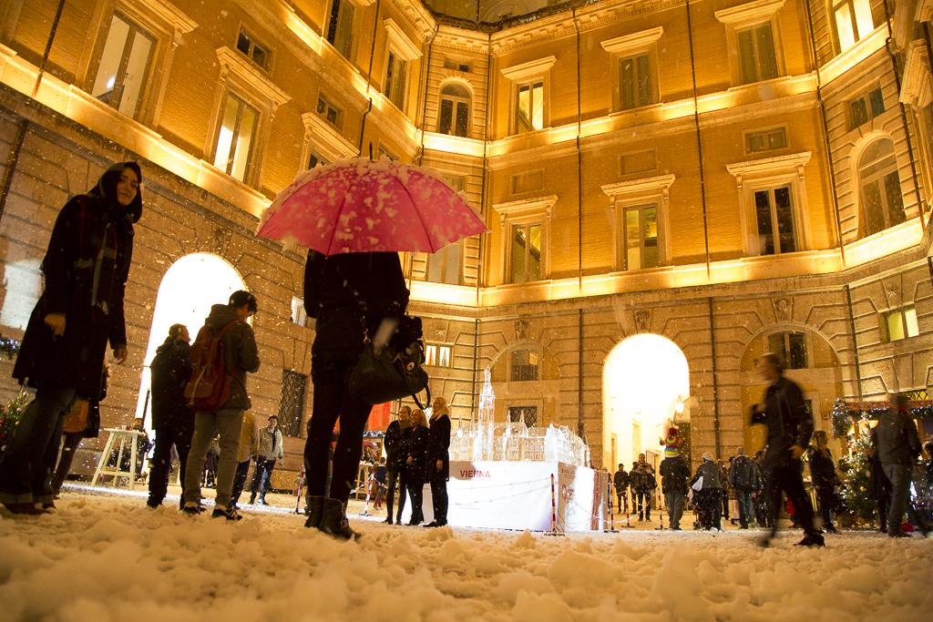 Vienna a Roma: l'atmosfera del Natale in Austria a Palazzo Braschi