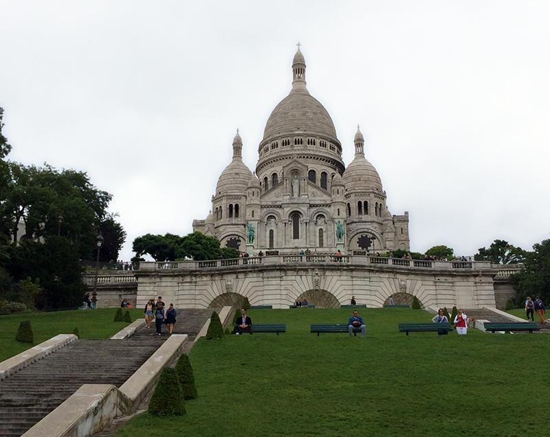 Montmartre Sacrè Coeur Paris