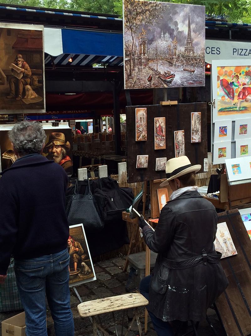 Montmartre parigi place du tertre