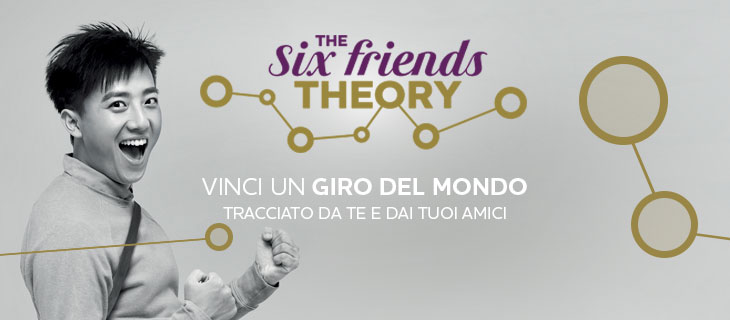 The Six Friends Theory Mercure Hotels