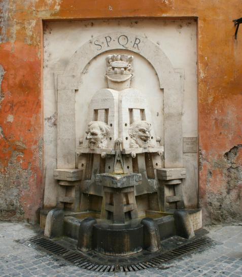 Fontana delle arti Via Margutta