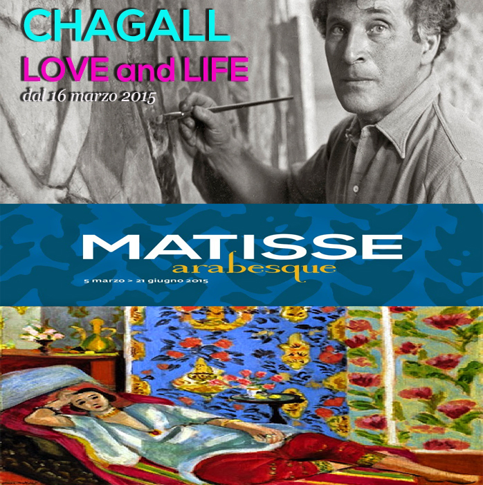Chagall Matisse mostre a Roma 2015