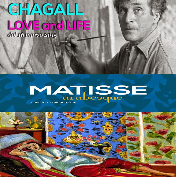 Chagall Matisse Roma 2015