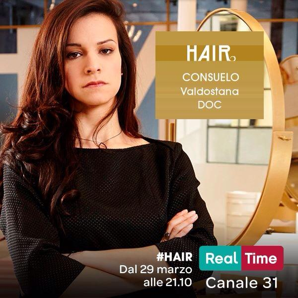 Consuelo Stoto vincitrice Hair Real Time