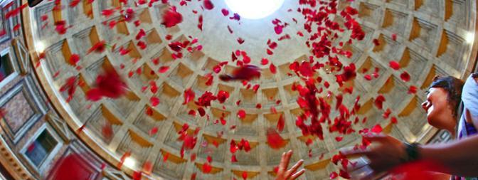 Pentecoste al Pantheon Roma