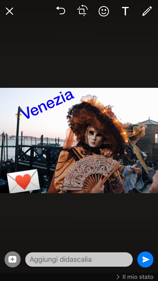 storie su whatsapp - Venezia