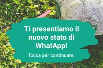 Come fare storie su Whatsapp