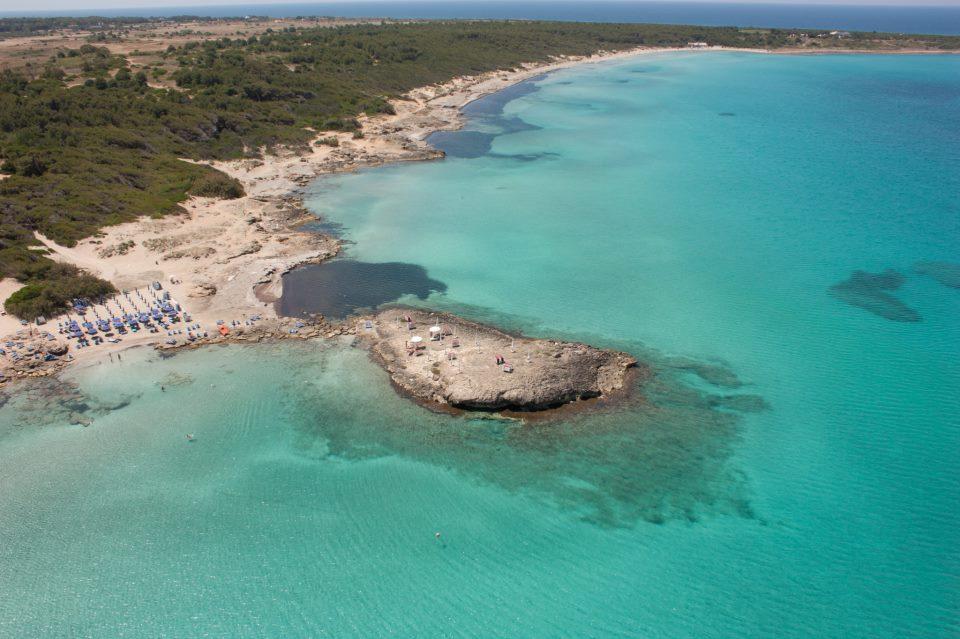 Gallipoli, spiagge Puglia