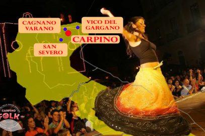 Itinerario on the Road Gargano: sulle orme del Carpino Folk Festival