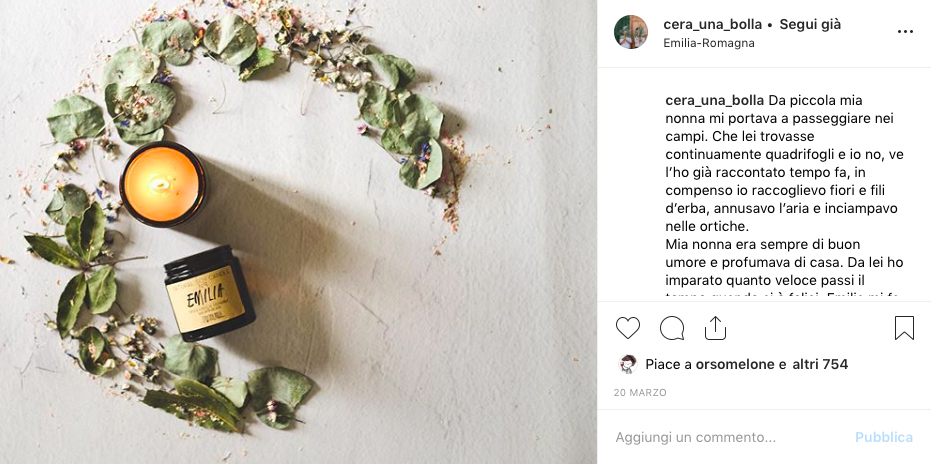 profumi instagram